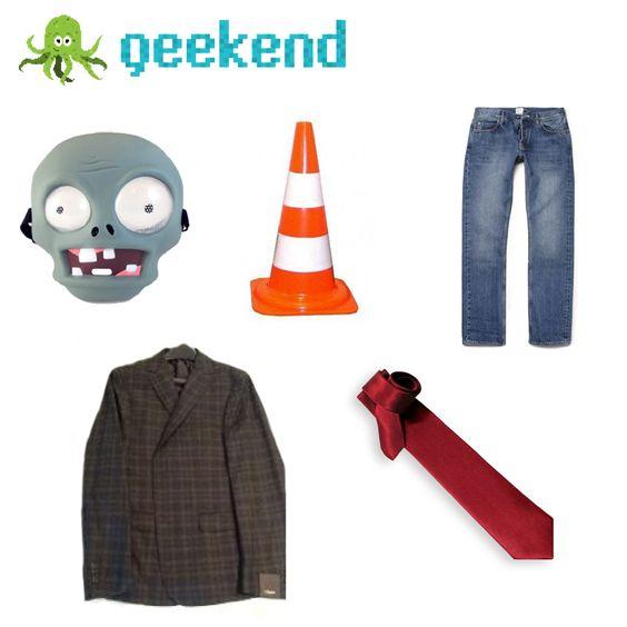 ¿Ya elegiste tu disfraz para Halloween? Qué tal de #zombie…#PVZ