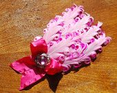 All Pink Soft Nagorie Feather Headband