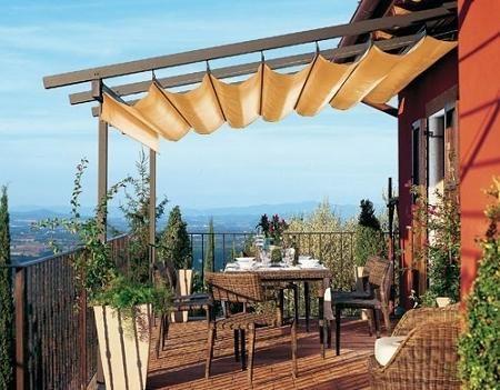 P rgolas para tu jard n y terraza terraza y jardin - Terrazas y jardines ...