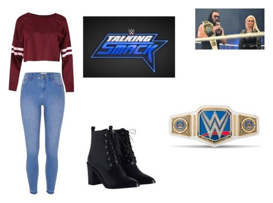 """""""Talking Smack - Calling Out The Miz and Maryse?"""" by fashionbabe-1738 on Polyvore featuring River Island and Zimmermann"""