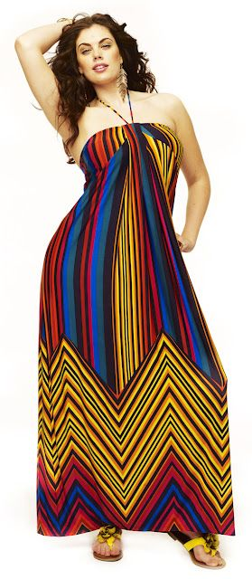 Get fashion advice on Maxi Dresses for Petite and Plus Size Women.