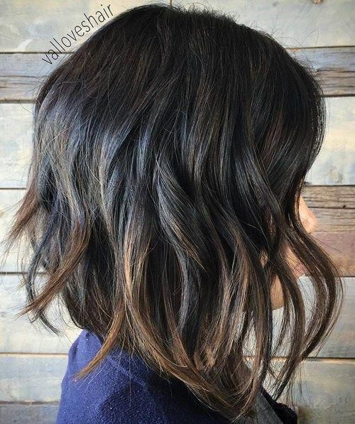 4 Bouncy Beach Wave Bob Beach Waves Are Perfect For Casual Looks Because They Provide Texture And Don T Lo Line Bob Haircut Long Bob Hairstyles Bobs Haircuts