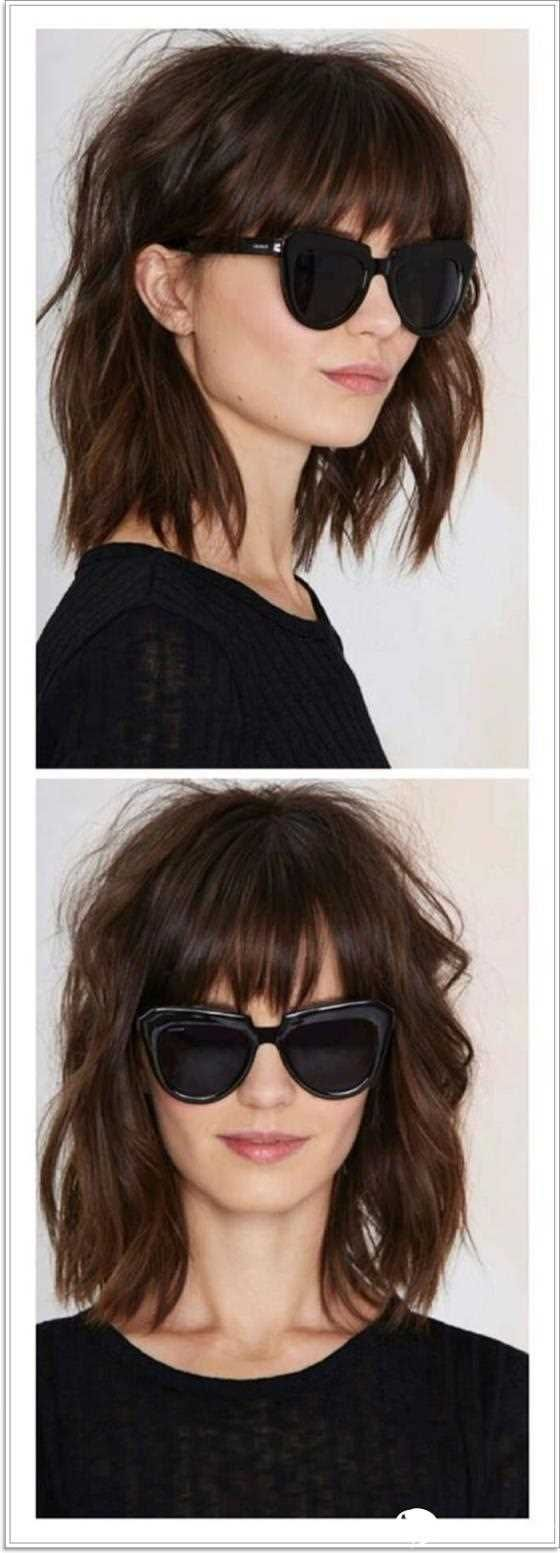 107 Frisuren Mit Verschiedenen Pony Hairstyles With Bangs Bob Hairstyles Hairstyles With Glasses