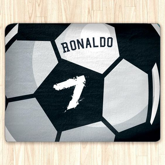 Soccer Ball Area Rug
