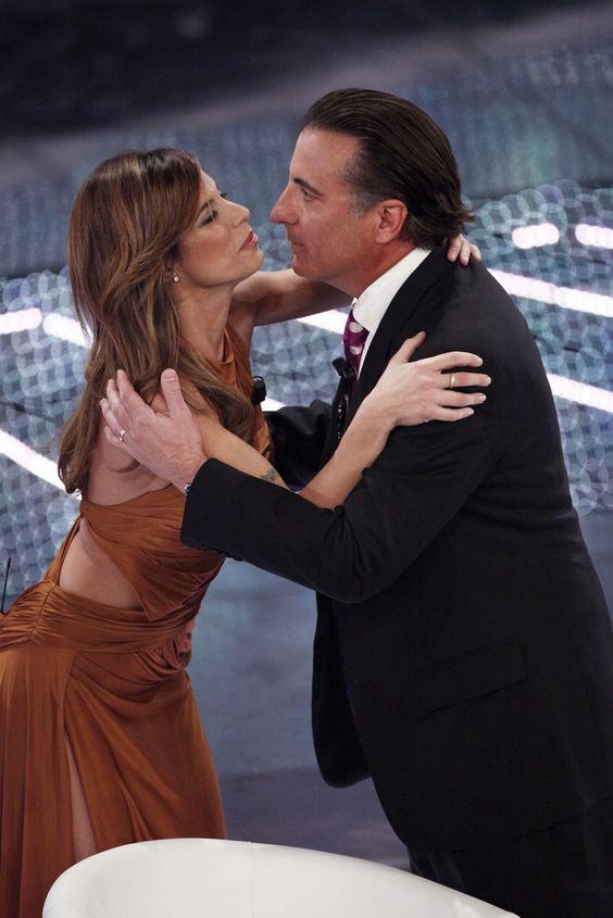 Andy Garcia - Andy Garcia and Elisabetta Canalis at the Italian Music Festival
