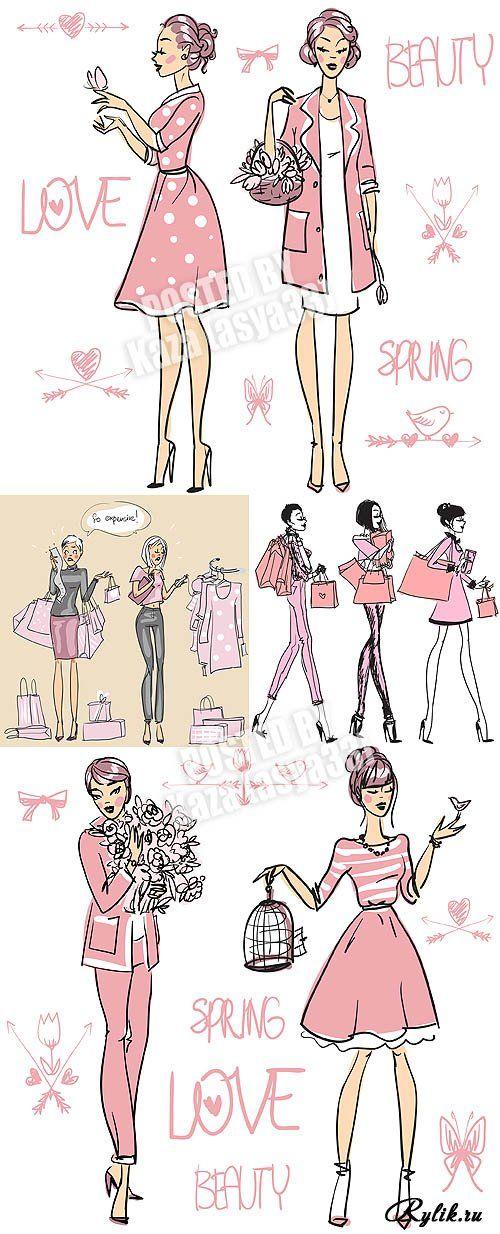 bloggers de moda ilustraçoes - Pesquisa do Google