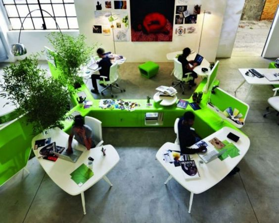 Terrific Office Workspace Excellent Creative Office Space Ideas Largest Home Design Picture Inspirations Pitcheantrous