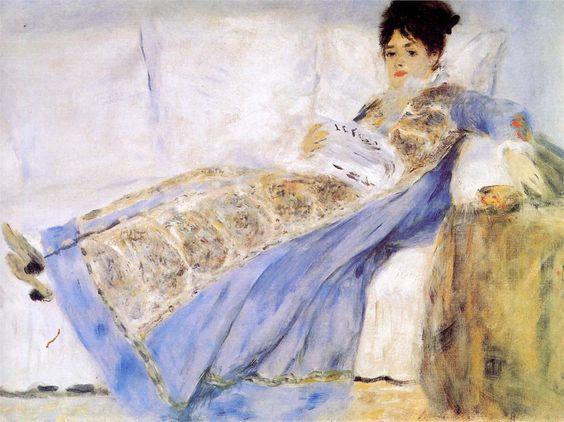 Madame Monet, 1872  Pierre-Auguste Renoir