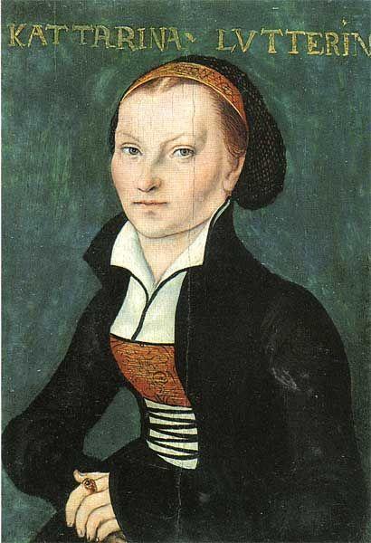 Katharina von Bora von Lucas Cranach d. Ä., um 1526: