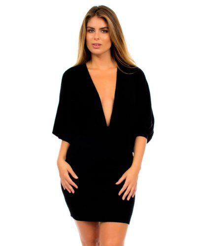 http://womenandprison.com/2luv-women-s-plunge-v-neck-mini-dress-p-253.html