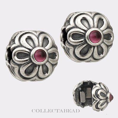 Authentic Pandora Sterling Silver Rhodolite Zinnia Clips (2) 790953RHL https://t.co/l58PAuoot9 https://t.co/YwHiQ7Asp5