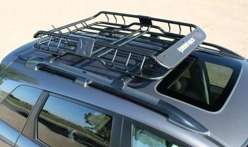 Rhino Rack Cargo Basket Roof Basket Ford Expedition Subaru Outback Accessories