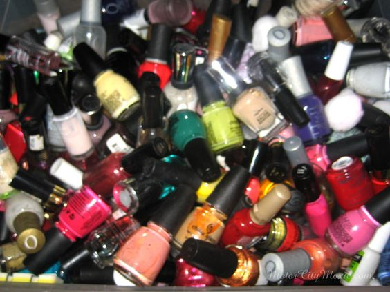 Motor City Moxie: nail polish stash
