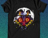 Mask of Majora Zelda  for T Shirt Mens and T Shirt Girls