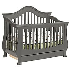 image of Million Dollar Baby Classic Ashbury 4-in-1 Convertible Crib in Manor…