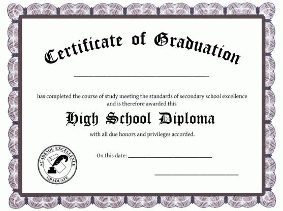 30 Free Printable Diploma Template In 2020 Free High School