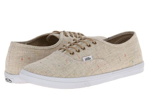 vans authentic lo pro beige color