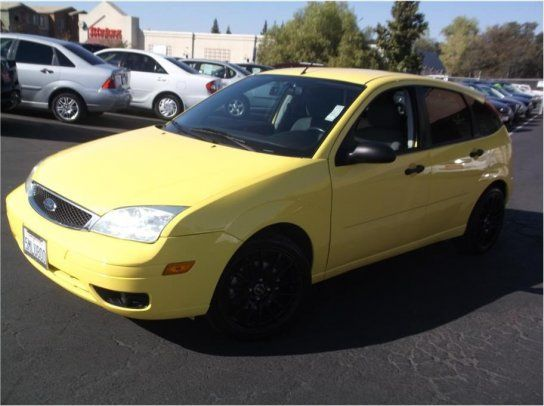 Hatchback 2005 Ford Focus Zx5 Hatchback With 4 Door In Folsom Ca 95630 Ford Focus Hatchback Ford