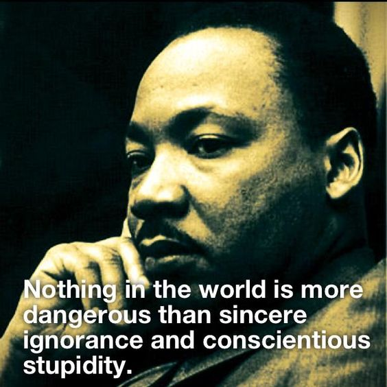 ~ Martin Luther King, Jr. #MLK