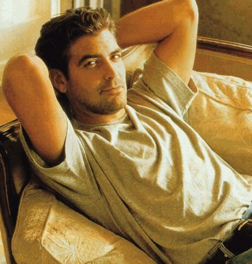 i pinned it once, i'll pin it again...yummmmmm.  George Clooney:  George Timothy Clooney May 6, 1961 Lexington, Kentucky.  Played Dr. Doug Ross in ER.