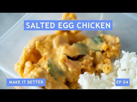 Bocorin Resep Dagang Misi Eatlah Ada Resep Salted Egg Chicken Ala Willgoz Youtube Food Food Processor Recipes Chicken Rice Bowls