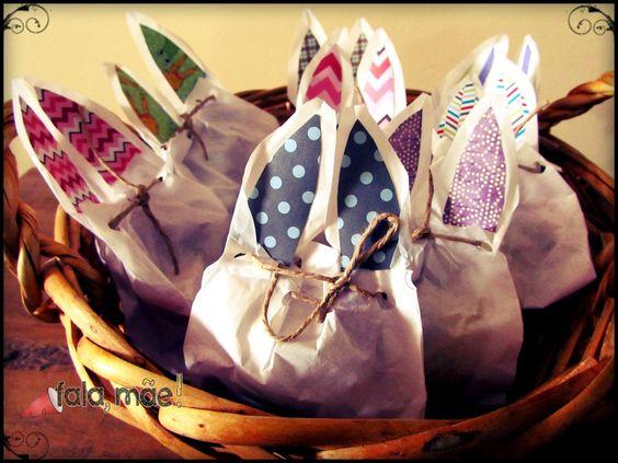 Easter bag - Embalagem de páscoa
