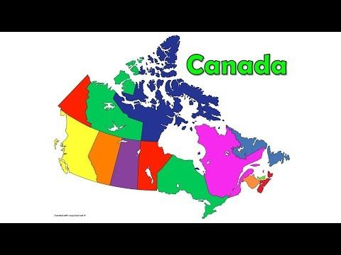 The Canada Song Provinces And Territories Of Canada Canada Geography Silly School Songs Youtube School Songs Geography Of Canada Geography