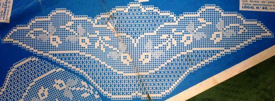 crochet em revista: Toalha de mesa