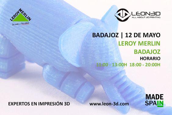 Taller de impresión 3D Leroy Merlin Badajoz