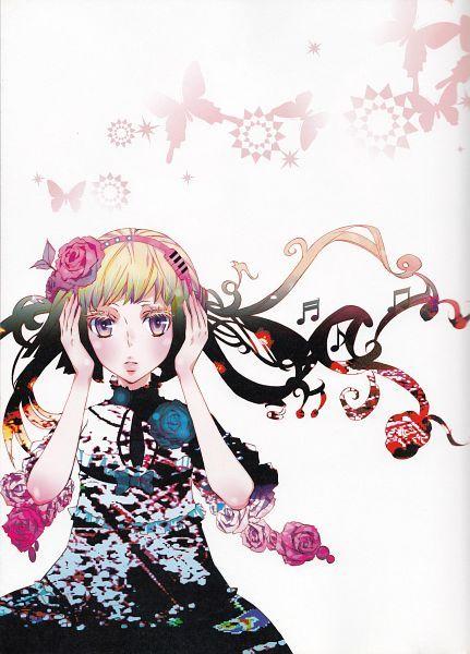 Tags: Anime, Scan, Karneval, Official Art, Tsukumo (Karneval)