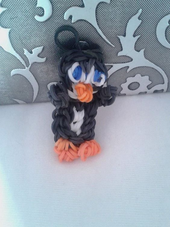 A pinguin made by kayleigh kraaij