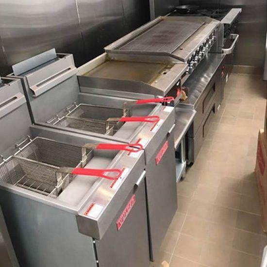 Restaurant Kitchen Freidora Acero Inoxidable Marca In 2020