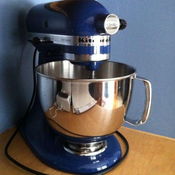 Willow blue kitchenaid mixer