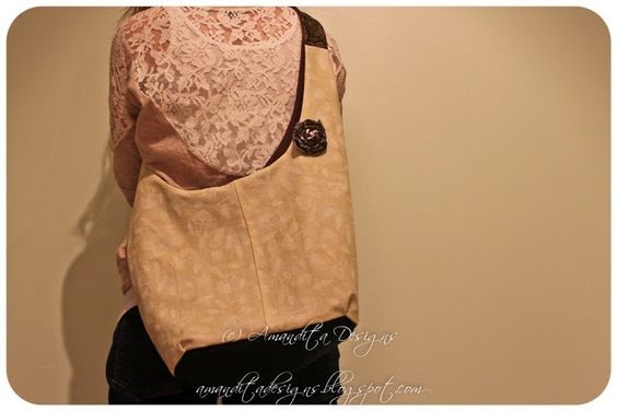 Reversible Hobo Bag Tutorial | Amandita Designs
