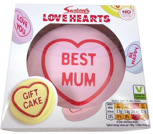 Mother's Day Cake, Love Hearts Themed
