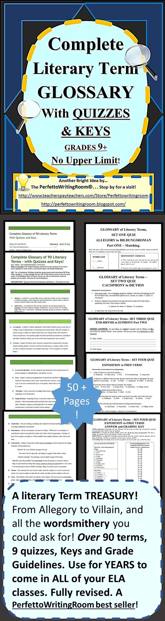 Literary terms dictionary pdf
