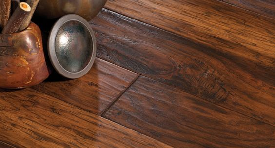 Mannington mountain view hickory fawn wood floors for Missouri hardwood flooring