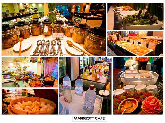 International Food, JW Mariott Phuket, Thailand