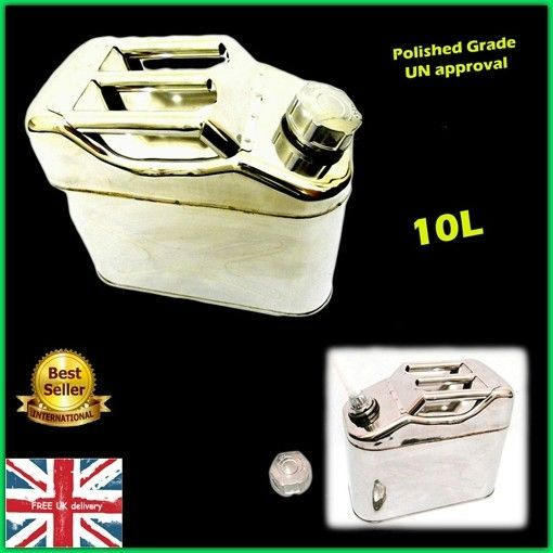 Marine Jerry Can Steel Water Fuel Petrol Carrier Storage Tank Container Boat Car Pet Scratcher Storage Tank Accessories Storage