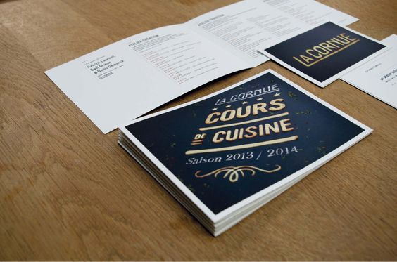 Agence Cécile Halley des Fontaines - Global design agency - La Cornue - high luxury cookers - biscuits type invitation