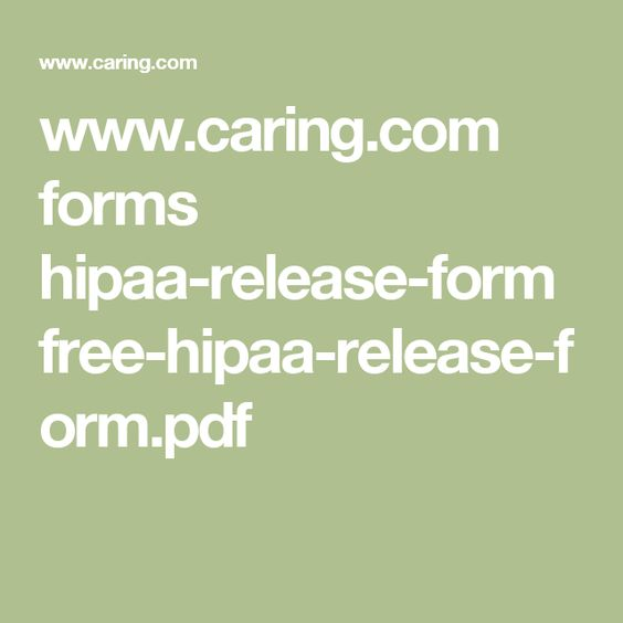What Documents Do Your Clientsu0027 18-Year-Old Children Need - hippa release forms