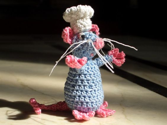 remy from ratatouille!* Now with FREE pattern crochet #diy #crafts