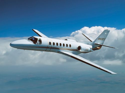 The Citation V Ultra With Its Straight Wing Design Can Fly Into And Out Of Smaller Airports At Lower Landing Speeds Than Its Rivals Th Private Jet Cessna Jet