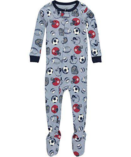 CARTERS Baby Boys Snug Fit Cotton Footie Pajamas - Size 12 MONTHS ...