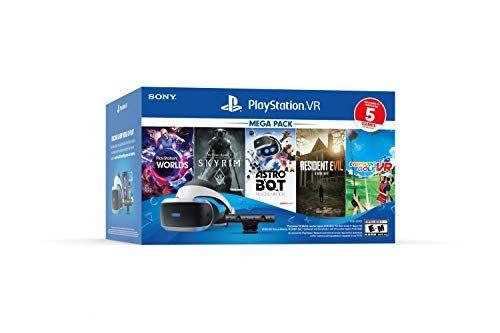 Playstation Vr Bundle Five Game Pack Playstation Playstation Gold Playstation Move