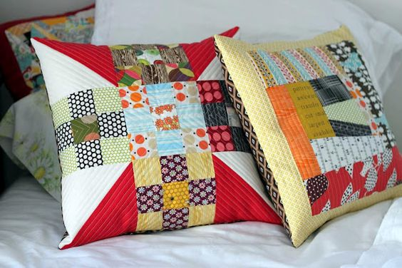 apriltwoeighty: Pillows for a friend.