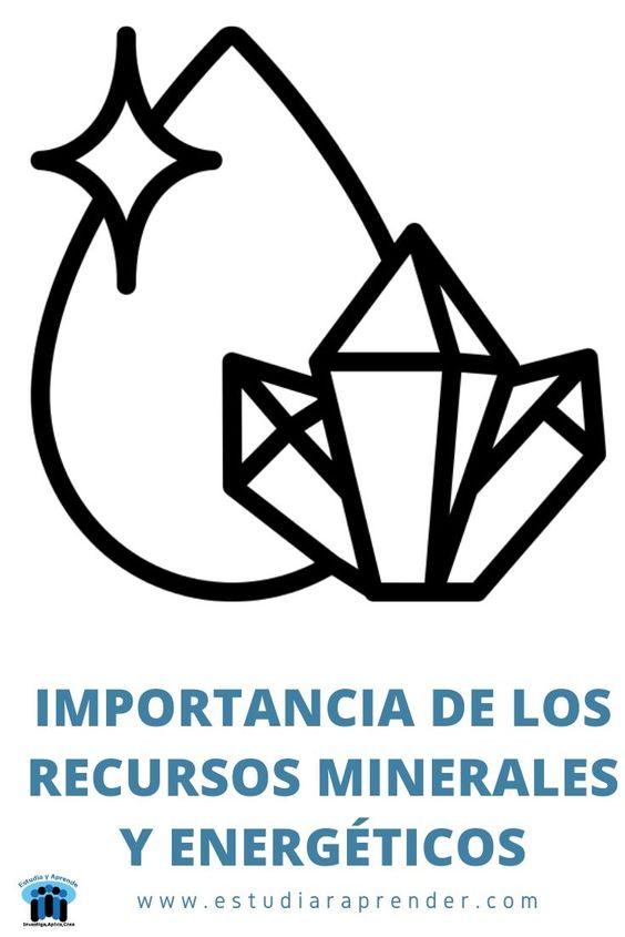 importancia de los recursos minerales y energéticos