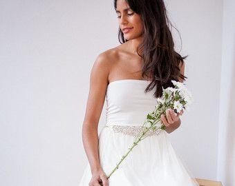 Vestido boho novia vestido novia encaje falda de tul boda primavera verano  2016 vestido by mimetik