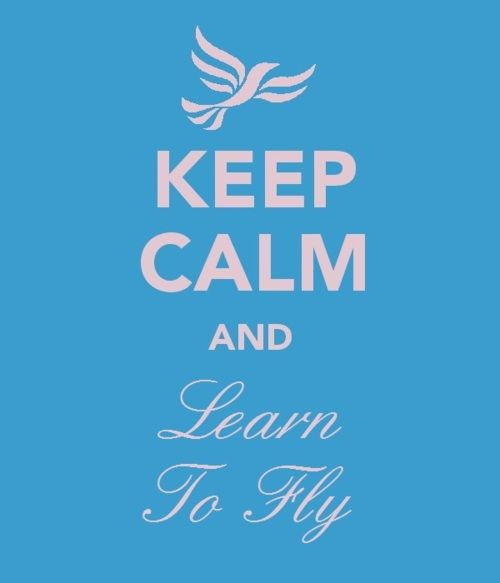 ...learn to fly