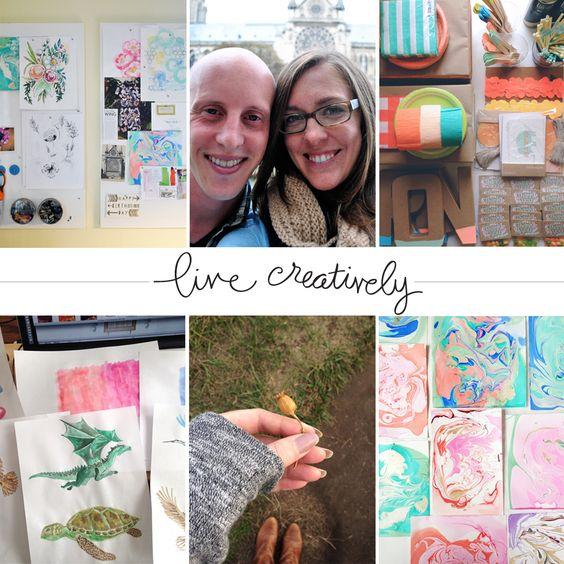 'living creatively' with Rachel Nanfelt | me & my BIG ideas